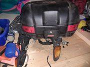 2x XL- Motorradkoffer mit Grundhalter