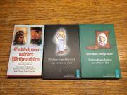 Bücher Weihnachtsgeschichten je 1
