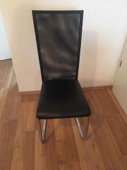 MÖMAX Schwingstuhl schwarz 4 Stück