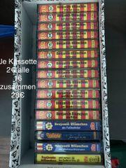Kassetten von Benjamin Blümchen und