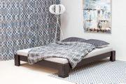 NEU Bett 160x200 Massiv-Holz Bettgestell