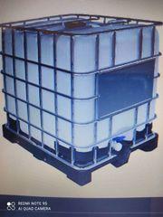 1 Regenwassertank IBC 1000 Liter