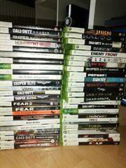 Xbox 360 Spiele Konvolut