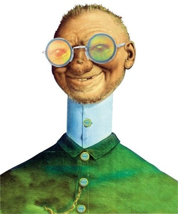 Scherzbrille Magisches Auge - KNALLERPREIS