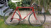 Bianchi-Rennrad mit Stahlrahmen