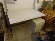 Büro Container Unterschrank - Schreibtisch höhenverstellbar Schreibtischstuhl