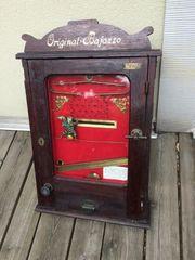 Suche alte Geldspiel und Warenautomaten