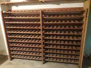 Massives Holz Weinregal für 210