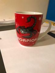 Tasse Kaffee Horoskop Skorpion
