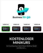 Kostenloser Minikurs Online Geld verdienen