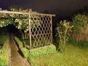 Garten mit Haus auf einer