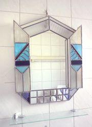 Art Deco Tiffany - Wandspiegel mit