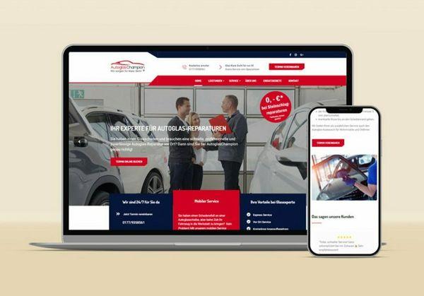 Website Erstellung Homepage Webdesign Webseite