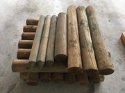 Holzpalisaden verschiedene Größen