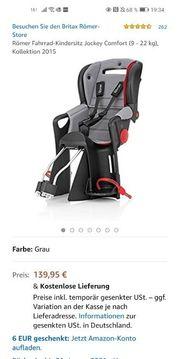 Römer Fahrrad-Kindersitz Jockey Comfort 9 -