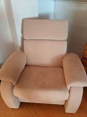 Sofa Zweisitzer mit Sessel
