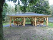 Gartenpavilion Gartenhaus Spielplatz Carport Pergola