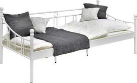 Betten - Einzelbett mit Lattenrost und Matratze -