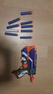 Nerf Pistole mit laser 9