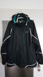 Damen Outdoorjacke Regatta 3in1schwarz weiß