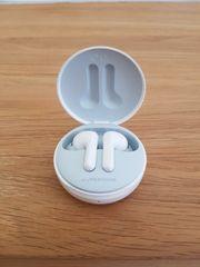 Nagelneue kabellose Bluetooth- Kopfhörer weiß