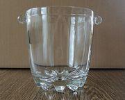 Eiswürfelbecher Eiseimer Vase Dekorschale Glas