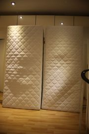 2 Stück Matratzen 90x200 Härtegrad