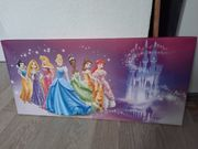 Wandbild 7 Disney-Prinzessinnen