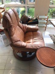 Sessel Relaxsessel 1-Sitzer Abstellbrett