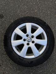 4x Winterkompletträder mit VW-Felgen R14