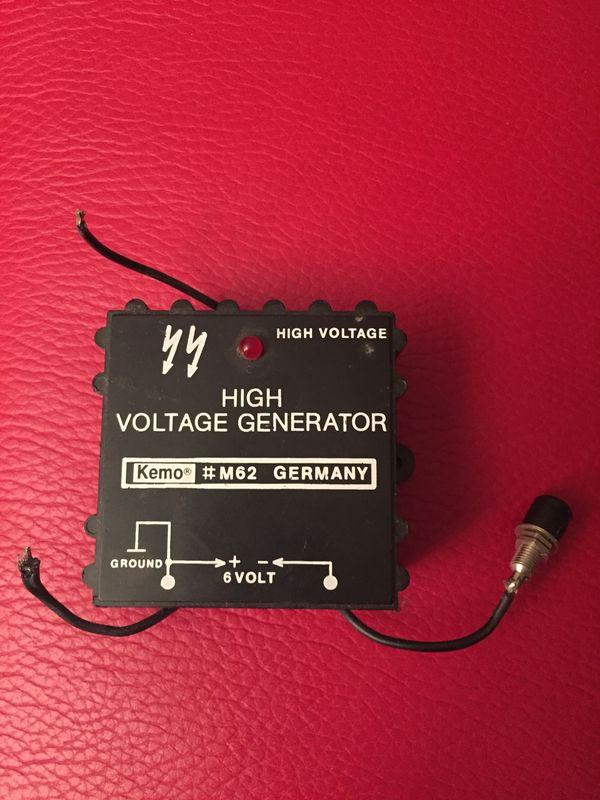 Kemo M62 High Voltage Generator - Starnberg - Kemo M62 High Voltage Generator , Porto 5 Euro - Starnberg