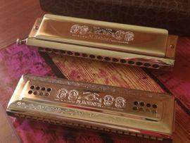 Zwei Hochwertige Mundharmonika M. Hohner