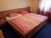 Goßes Doppelbett vollmassiv Schlafzimmer