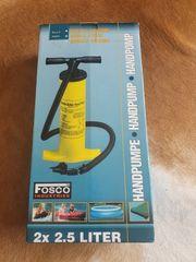 Handpumpe 2x 2 5 Liter