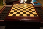 Edelholz- Schachspiel