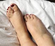 getragene Socken für Fußfetischisten