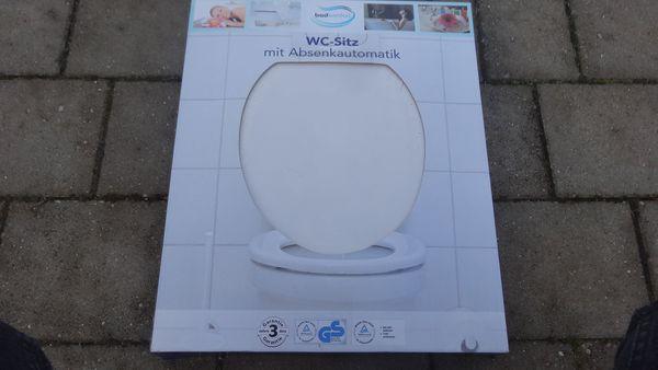 WC-Sitz mit Absenkautomatik neu Originalverpackt