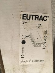 Eutrac Hochschiene 2 m Orginal