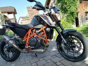 KTM DUKE 690 Akrapovic Black