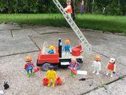 Playmobil Feuerwehr Hasenstall Hühnerstall Fee