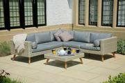 Rattan Corner Lounge Set - Gartenmöbel