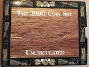 Sammler- Münzensatz The 1990 Coin