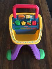 Kinder - Lern- u Spiel-Einkaufswagen von