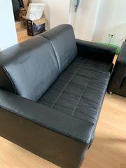 2 Sitzer Couch kunstleder