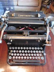 Schreibmaschine WANDERER Continental zu verkaufen