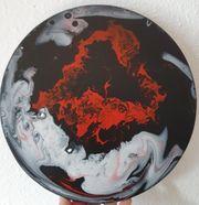 Dunkle Erde abstrakt bunt - 30cm
