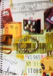 2x Briefmarkenalben A4 mit 1