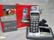 Hagenuk BIG 655 Groß- Seniorentastentelefon