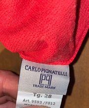 Carlo Pignatelli Pullover unisex rot