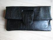 Handtasche Abendtasche Clutch Tuch Krokopr